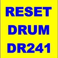 Come effettuare il reset del drum brother DR241
