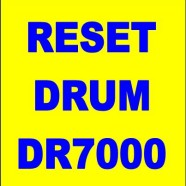 Come effettuare il reset del drum brother DR7000