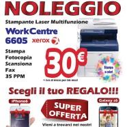 Noleggio Xerox 6605 in omaggio un smarthone