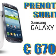 18 Aprile 2013 – nuovo Samsung Galaxy S4