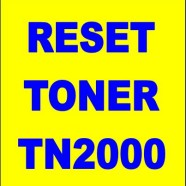 Reset toner brother tn2000 – tn2120 – tn2220