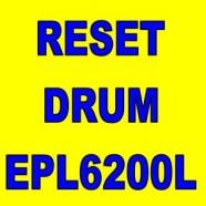 Reset Drum Epson Epl6200L